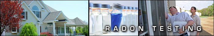Radon Testing in PA, including Reading, Harrisburg & Lancaster.
